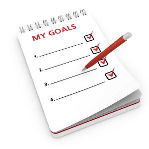 writing-down-goals
