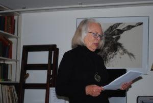 Susan Bailey reads from her memoir