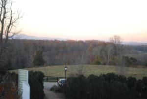 VCCA sunset